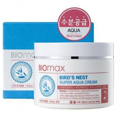 BioMax Крем интенсивно увлажняющий - Bird's nest super aqua cream, 100мл