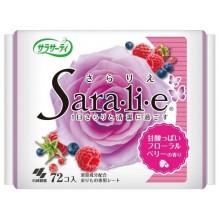 Прокладки ежедневные гигиенические с цветочно-ягодным ароматом, 72 шт