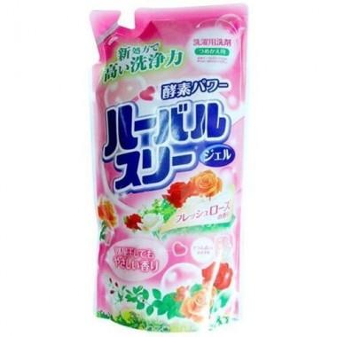 Гель для стирки белья с ароматом роз, запасной блок, 800 мл — / - Gel for washing clothes