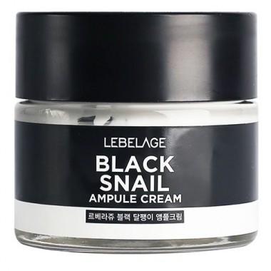 Ампульный крем с муцином чёрной улитки, 70 мл — Black Snail Ampule Cream