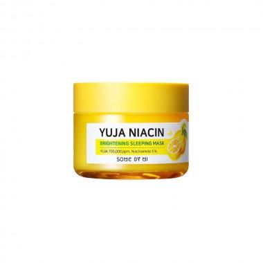 Some By Mi Маска для сияния кожи ночная - Yuja niacin 30 days miracle brightening sleeping mask, 60г