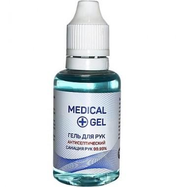 Гель для рук антисептический, 30 мл — Medical gel