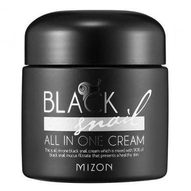 Крем с экстрактом чёрной улитки, 75 мл — Black snail all in one cream