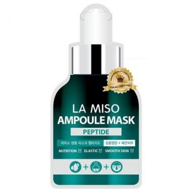 La Miso Маска ампульная с пептидами - Peptide acid ampoule mask, 25г