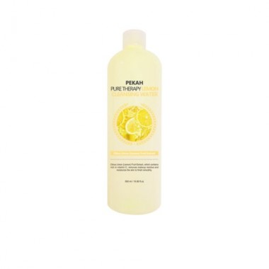 Вода мицеллярная с экстрактом лимона, 500 мл — Pure therapy lemon cleansing water