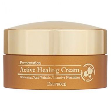 Крем для лица питательный кислородный, 100 г — Fermentation active healing cream