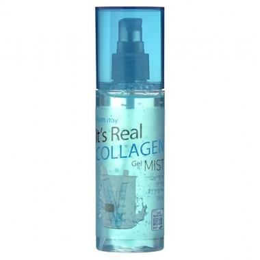 Гель-спрей для лица с коллагеном, 120 мл — It's Real Collagen Gel Mist