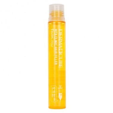 Витаминизирующий филлер для волос с витаминами, 13 мл — DERMA UBE Vita Clinic Hair Filler