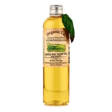 Безсульфатный шампунь для волос с маслом лемонграсса, 260 мл — Natural Shampoo Lemongrass
