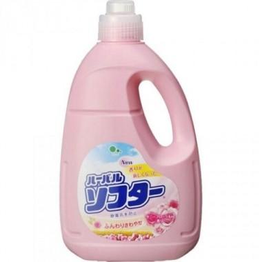 Mitsuei Кондиционер для белья с ароматом белых цветов - Herbal softer, 2000мл