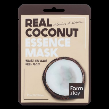 FarmStay Маска тканевая для лица с кокосом - Real сoconut essence mask, 23мл