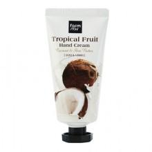 Крем для рук Тропические фрукты с кокосом и маслом ши, 50 мл