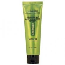 Освежающий шампунь для глубокого очищения волос и кожи головы, 120 мл