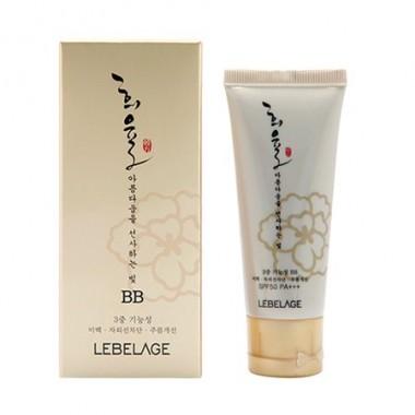 ББ крем с муцином улитки SPF 50+/PA+++ — Heeyul Premium Snail BB Cream SPF