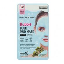 Увлажняющая очищающая пузырьковая маска для лица с глиной и морскими водорослями, 10 г