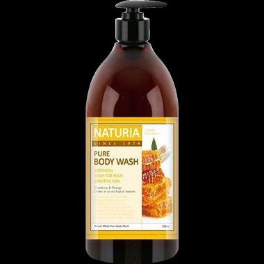 Гель для душа мед/лилия, 750 мл — Pure body wash honey & white lily