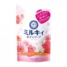 Мыло для тела молочное с ароматом цветов, 400 мл