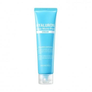 Secret Key Крем гиалуроновый для увлажнения и омоложения кожи - Hyaluron aqua soft cream, 70мл