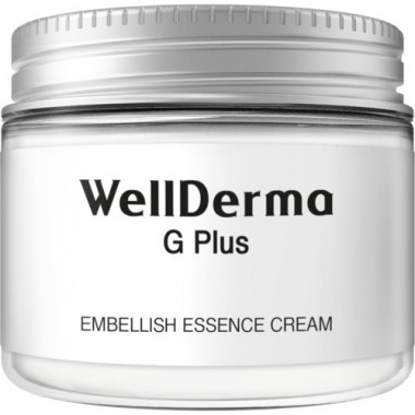 WellDerma Крем для лица увлажнение - G Plus embellish essence cream, 50г