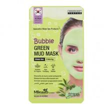 Успокаивающая очищающая пузырьковая маска для лица с глиной и экстрактом зеленого чая, 10 г