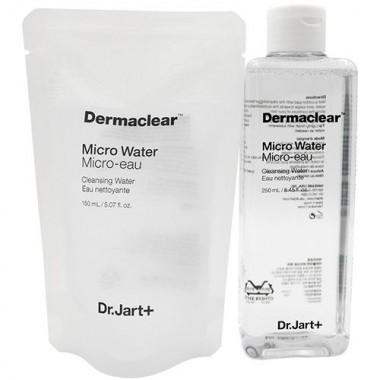 Вода мицеллярная + сменный блок, 250 мл+150 мл — Dermaclear micro water
