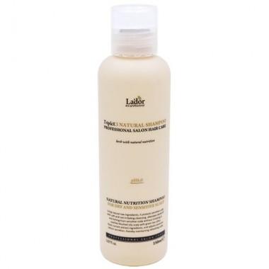 Шампунь с натуральными ингредиентами, 150 мл — PH6.0 Triplex natural shampoo