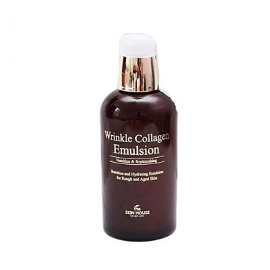 Антивозрастная эмульсия с коллагеном, 130 мл — Wrinkle Collagen Emulsion