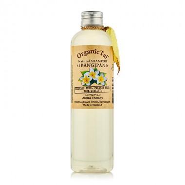 Безсульфатный шампунь для волос с маслом франжипани, 260 мл — Natural Shampoo Frangipani