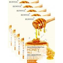 Набор тканевых масок с экстрактом меда, 22 мл*5 шт