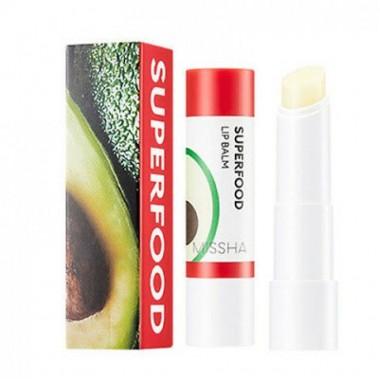 Бальзам для губ c авокадо, 3,2 г — Super food avocado lip balm