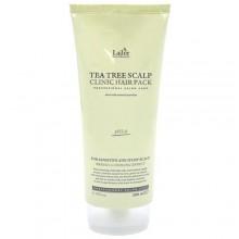 Очищающая маска для волос и чувствительной кожи головы с чайным деревом, 200 мл