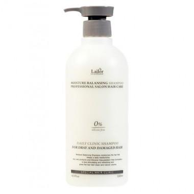 Шампунь увлажняющий бессиликоновый, 530 мл — Moisture balancing shampoo