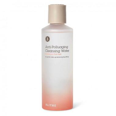 Вода очищающая с Гималайской розовой солью, 250 мл — Anti-polluaging himalayan pink salt cleansing water