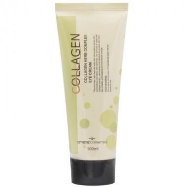 Крем для век с коллагеном и растительными экстрактами, 100 мл — Collagen herb complex eye cream
