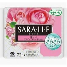 Прокладки ежедневные с ароматом французской розы, 72 шт