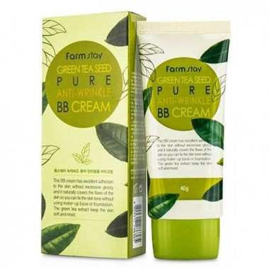 ББ-крем с семенами зеленого чая, 40 г — Green Ta Seed Anti-Wrinkle
