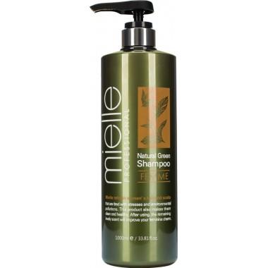 Освежающий шампунь с ментолом и экстрактами растений, 1000мл, Mielle Professional