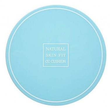 CC-кушон омолаживающий, тон №21 - светло-бежевый, 15 г — (- №21) - Suvia natural skin fit cc cushion