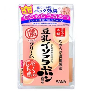 Sana Крем ночной питательный с изофлавонами сои - Soy milk night cream, 50г