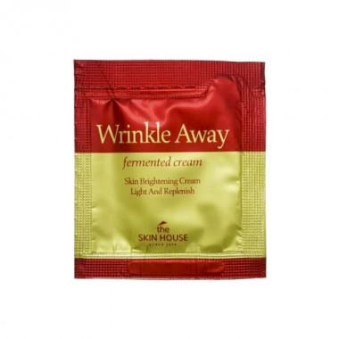 The Skin House Крем с экстрактом галактомисиса - Wrinkle away fermented cream, 2мл(пробник)
