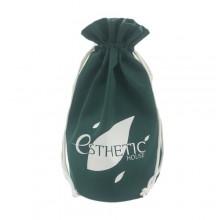 Мешок сувенирный зеленый 34х25 см