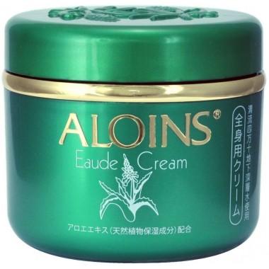 Aloins Крем для тела с экстрактом алоэ с легким ароматом трав - Eaude cream, 185г
