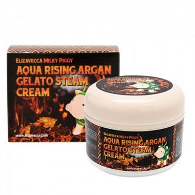 Крем для лица с аргановым маслом, 100 г — Aqua rising argan gelato steam cream