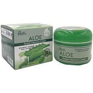 Ekel Крем для лица увлажняющий с алоэ вера - Aloe ample intensive cream, 100г