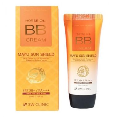 BB-крем на основе лошадиного масла, SPF 50 PA+++, 70 мл — Horse oil BB cream, SPF 50 PA+++