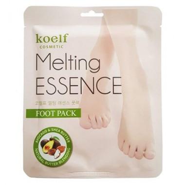 Koelf Маска-носочки для ног - Melting essence foot pack, 16г