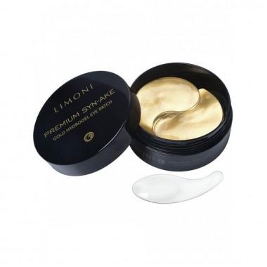 Антивозрастные патчи для глаз со змеиным ядом, 60 шт — Premium Syn-Ake Gold Hydrogel Eye Patch