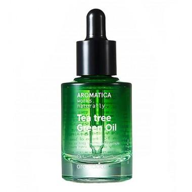 So Natural Масло для лица с центеллой и чайным деревом - Centel teatree face oil, 30мл
