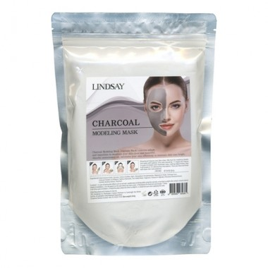 Lindsay Маска альгинатная с древесным углем - Charcoal modeling mask, 240г