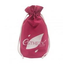 Мешок сувенирный розовый 34х25 см